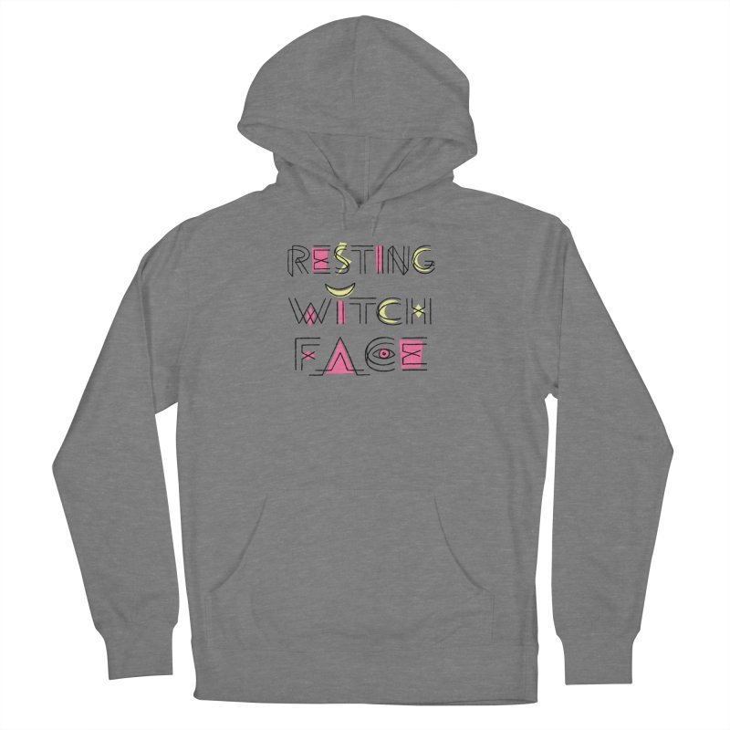 Resting Witch Face Women's French Terry Pullover Hoody by Lupi Art + Illustration