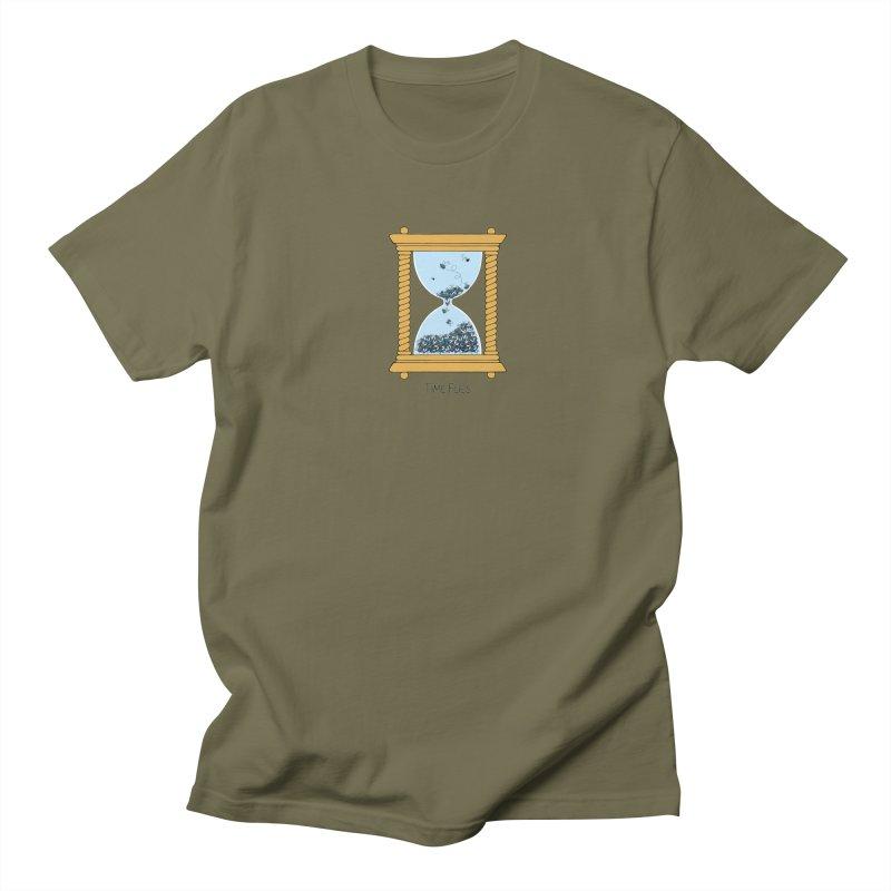 Time Flies Men's T-shirt by Lupi Art + Illustration