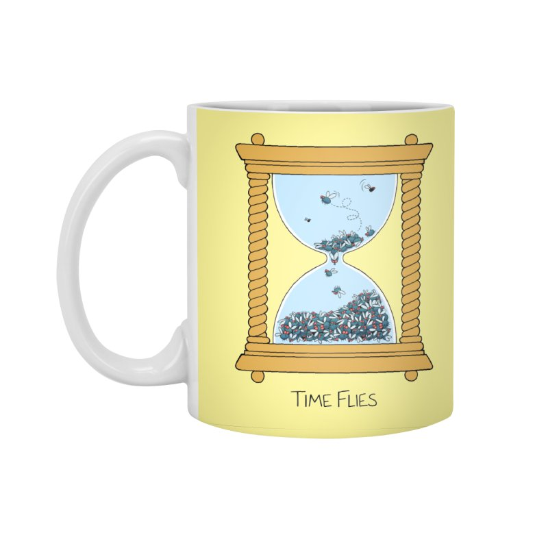 Time Flies Accessories Standard Mug by Lupi Art + Illustration