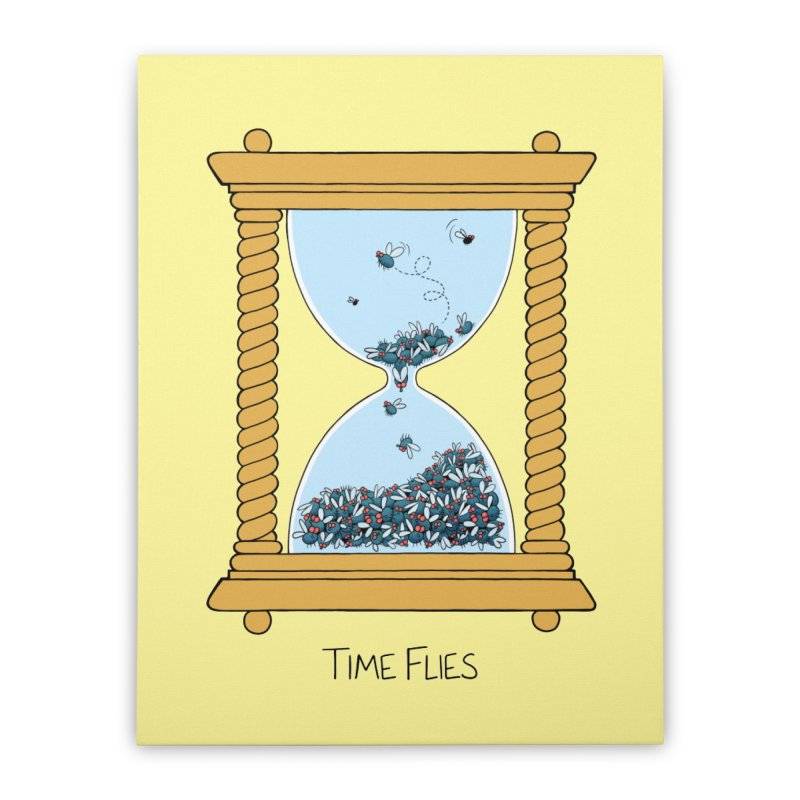 Time Flies   by Lupi Art + Illustration