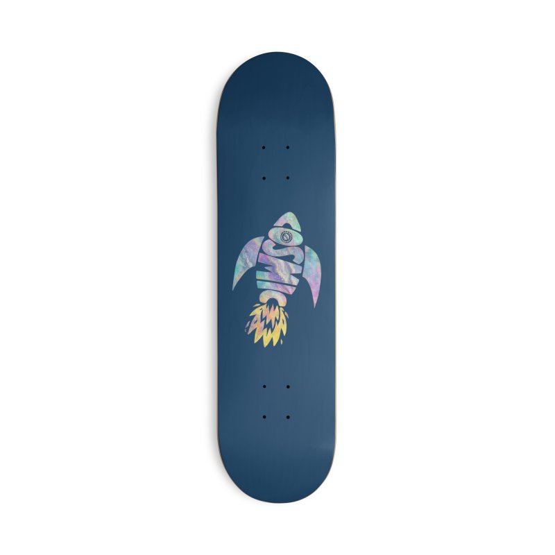 Cosmic Spaceship Accessories Skateboard by Lupi Art + Illustration