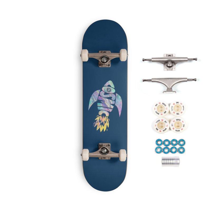 Cosmic Spaceship Accessories Complete - Premium Skateboard by Lupi Art + Illustration
