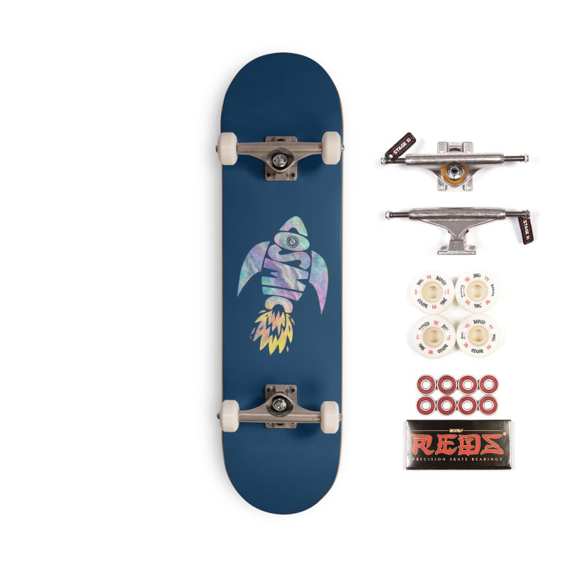 Cosmic Spaceship Accessories Complete - Pro Skateboard by Lupi Art + Illustration