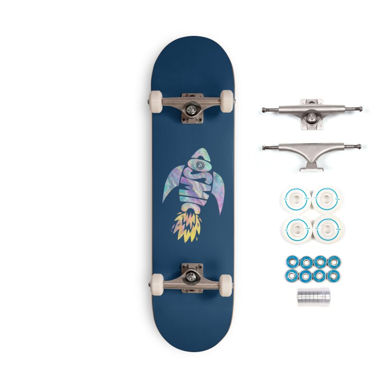 Cosmic Spaceship Accessories Complete - Basic Skateboard by Lupi Art + Illustration