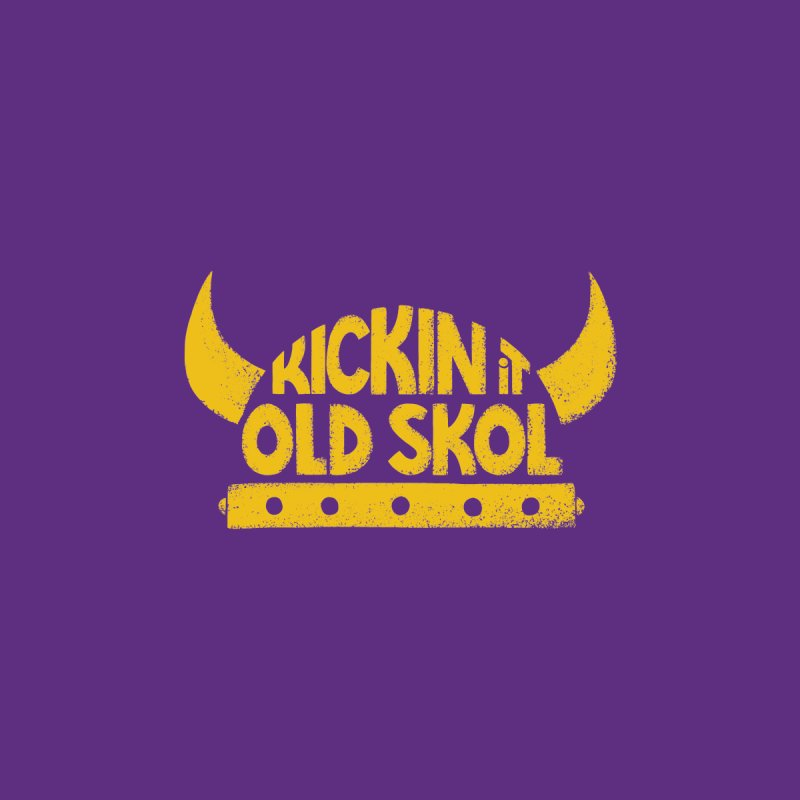 Old Skol (Football edition) Men's Pullover Hoody by Lupi Art + Illustration
