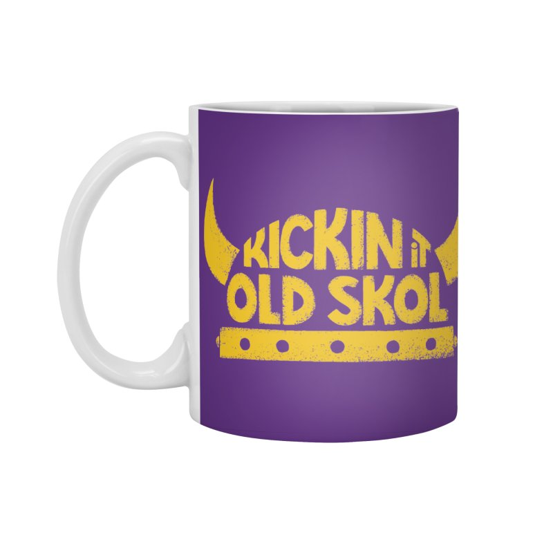 Old Skol (Football edition) Accessories Standard Mug by Lupi Art + Illustration