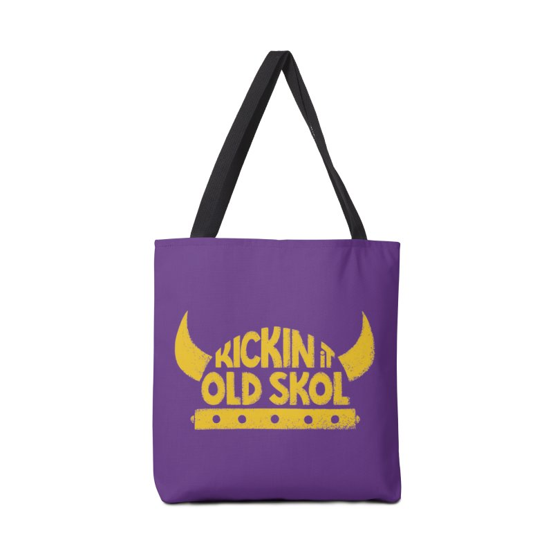Old Skol (Football edition) Accessories Tote Bag Bag by Lupi Art + Illustration