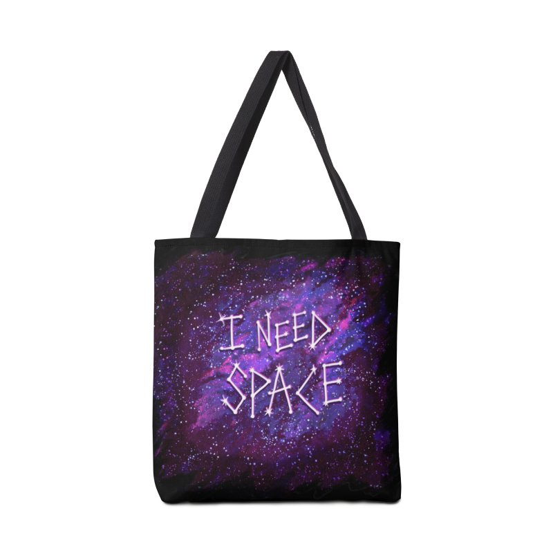 I Need Space Accessories Bag by Lupi Art + Illustration