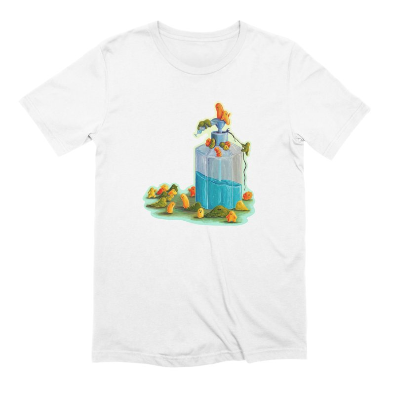 Germs are Everywhere Straight Cut T-Shirt by Lupi Art + Illustration