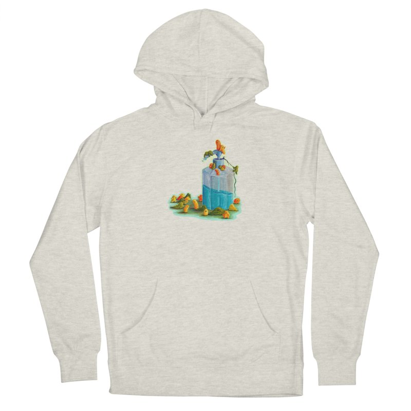 Germs are Everywhere Fitted Pullover Hoody by Lupi Art + Illustration