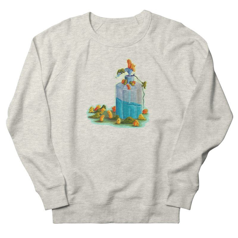 Germs are Everywhere Women's Sweatshirt by Lupi Art + Illustration