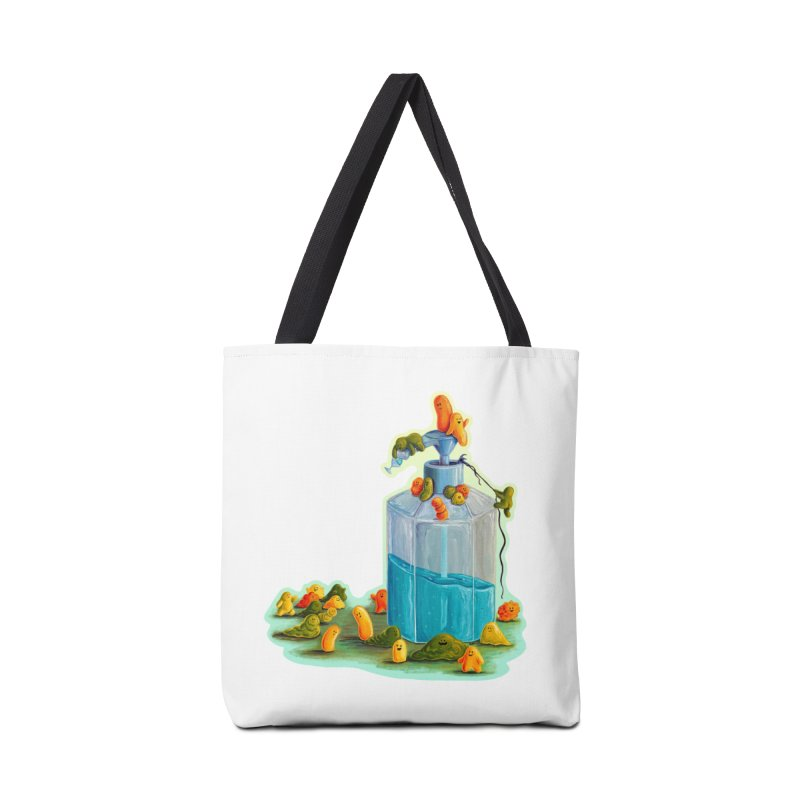 Germs are Everywhere Accessories Bag by Lupi Art + Illustration