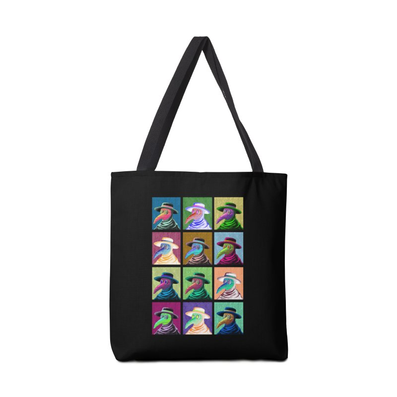 Pop Art Plague Doctor Accessories Bag by Lupi Art + Illustration
