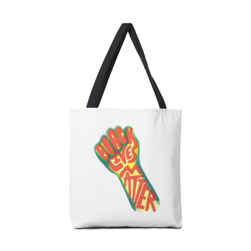 Black Lives Matter Fist Accessories Bag by Lupi Art + Illustration
