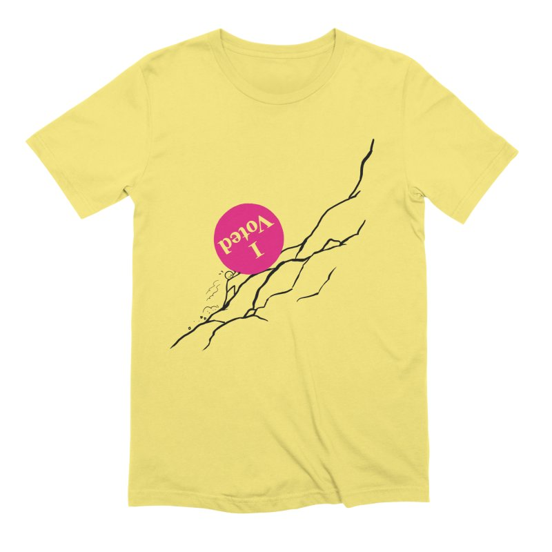 Uphill Battle Straight Cut T-Shirt by Lupi Art + Illustration