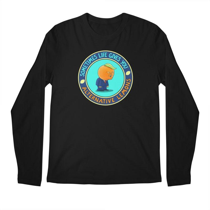 Alternative Lemons Men's Longsleeve T-Shirt by Lupi Art + Illustration