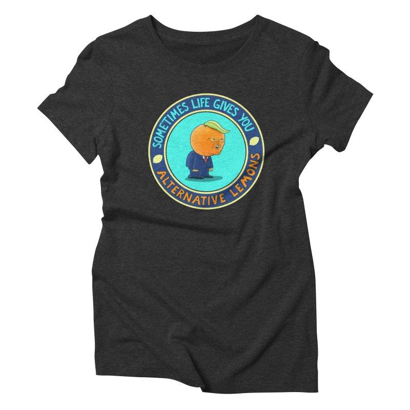 Alternative Lemons Women's T-Shirt by Lupi Art + Illustration