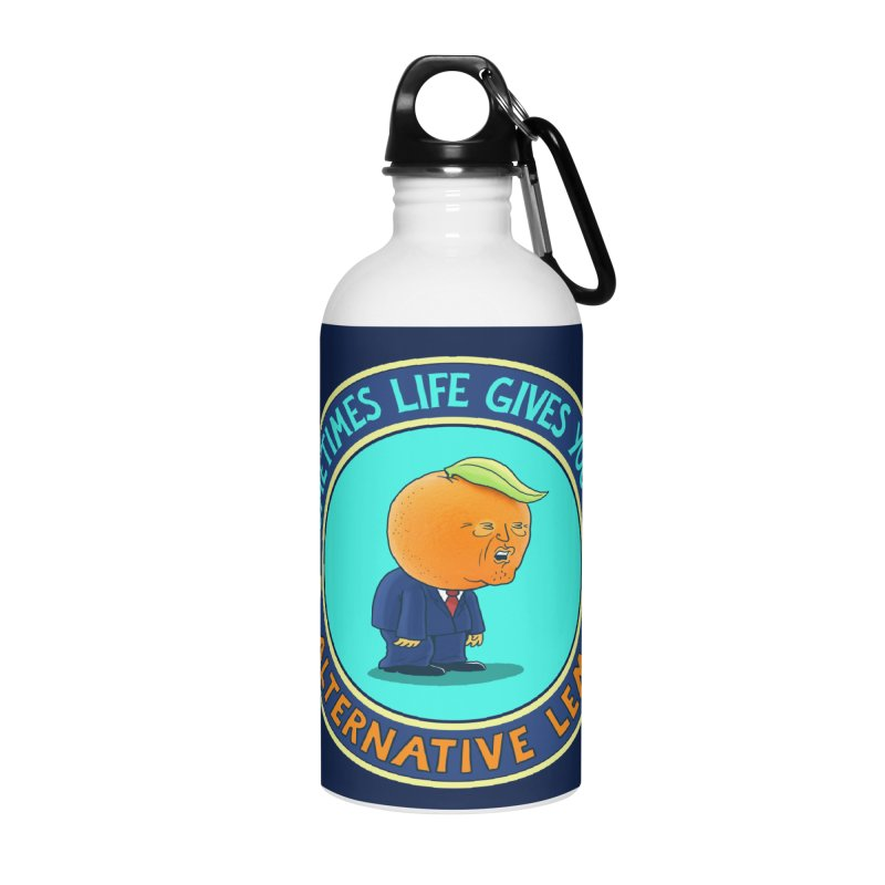 Alternative Lemons Accessories Water Bottle by Lupi Art + Illustration