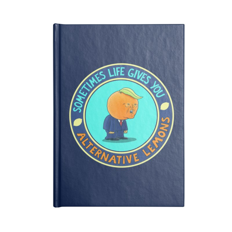 Alternative Lemons Accessories Notebook by Lupi Art + Illustration