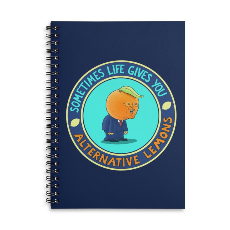 Alternative Lemons Accessories Notebook by Lupi Art + Illustration