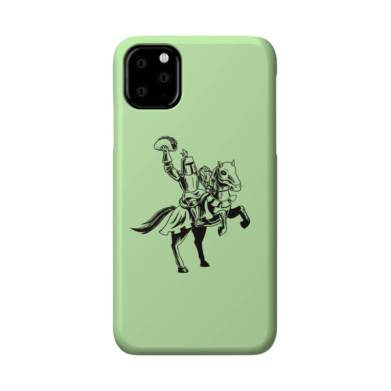 Taco Knight Accessories Phone Case by Lupi Art + Illustration
