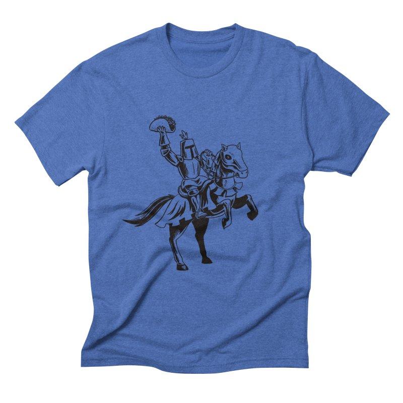 Taco Knight Straight Cut T-Shirt by Lupi Art + Illustration
