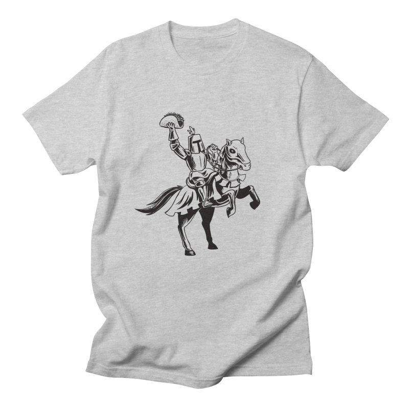 Taco Knight Men's Regular T-Shirt by Lupi Art + Illustration