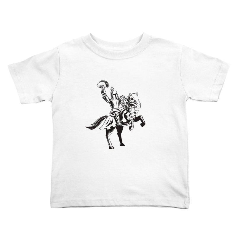 Taco Knight Kids Toddler T-Shirt by Lupi Art + Illustration
