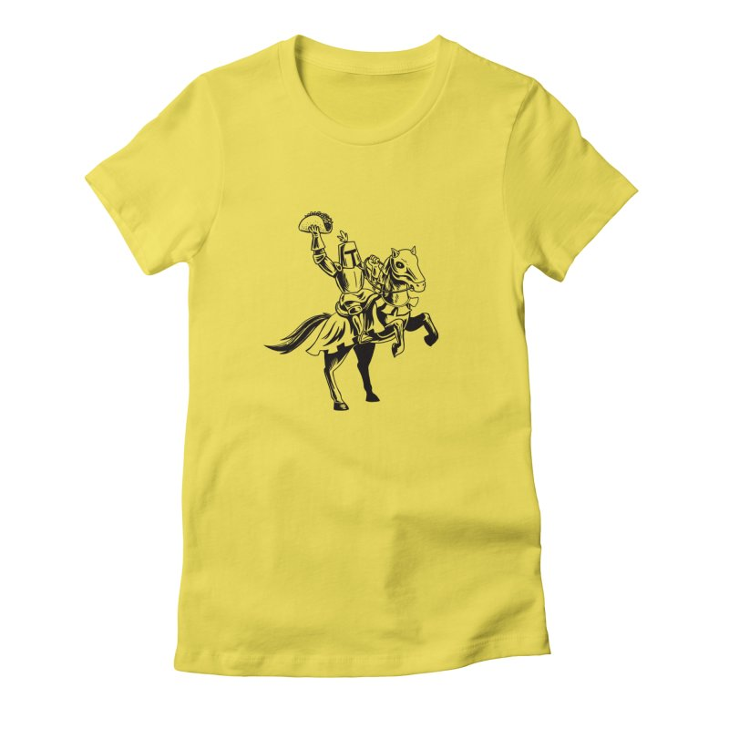 Taco Knight Women's T-Shirt by Lupi Art + Illustration