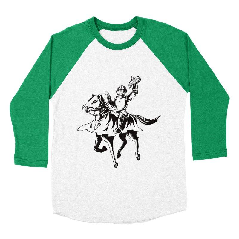 Pizza Knight Men's Longsleeve T-Shirt by Lupi Art + Illustration