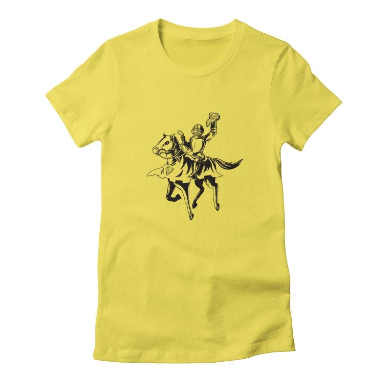 Pizza Knight Women's T-Shirt by Lupi Art + Illustration
