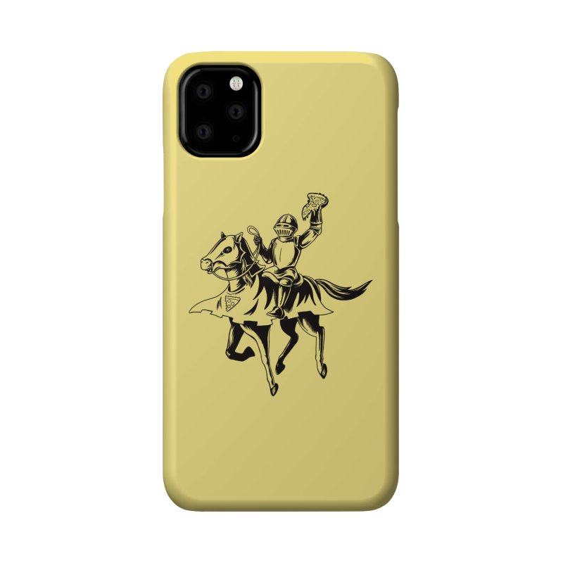 Pizza Knight Accessories Phone Case by Lupi Art + Illustration