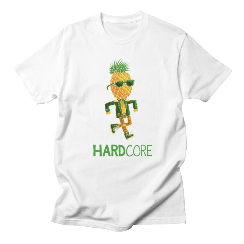 Hardcore Men's T-Shirt by Lupi Art + Illustration