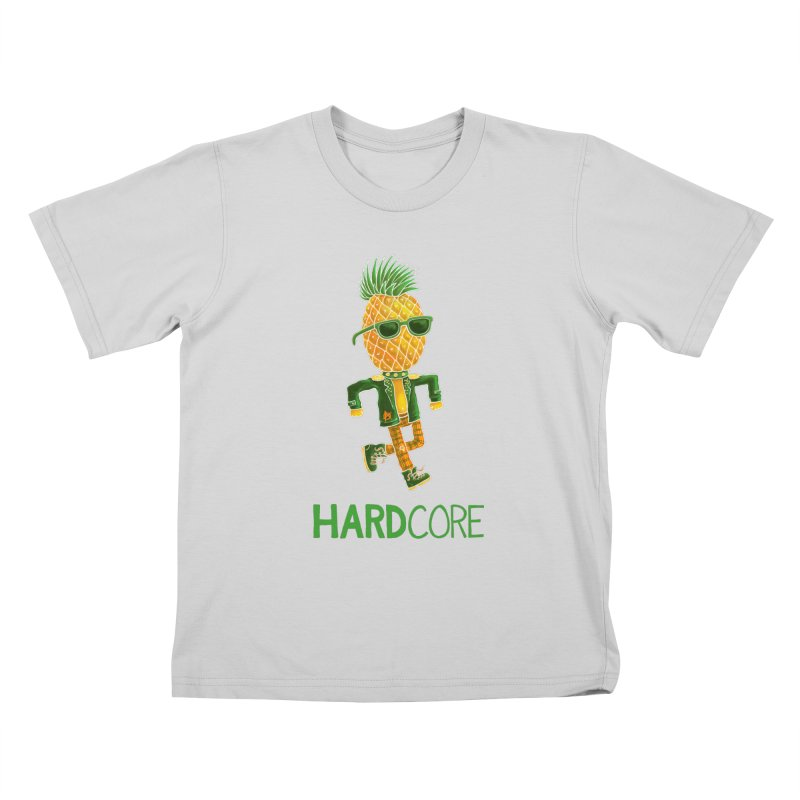 Hardcore Kids T-Shirt by Lupi Art + Illustration