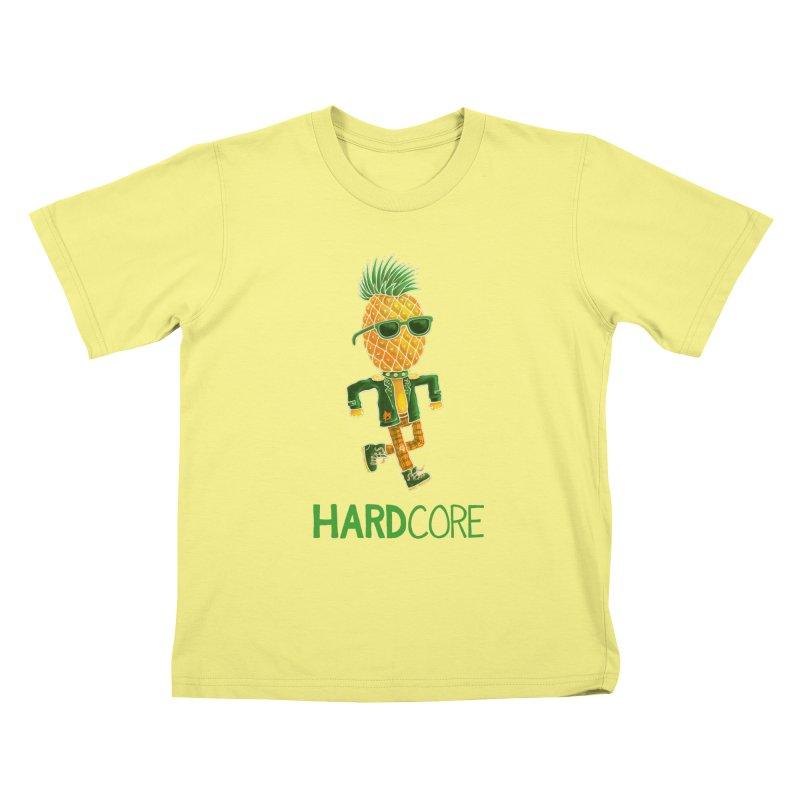 Hardcore Kids T-shirt by Lupi Art + Illustration
