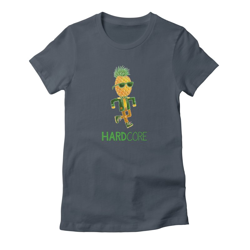 Hardcore Women's T-Shirt by Lupi Art + Illustration
