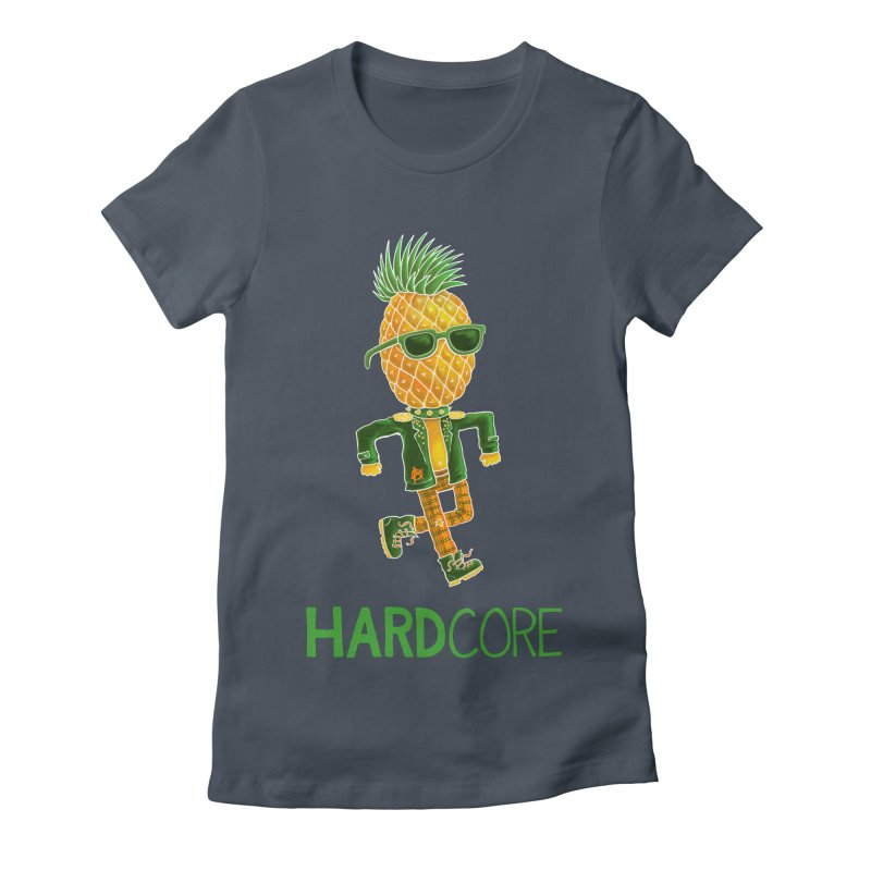 Hardcore Women's T-Shirt by Lupi Art + Illustration