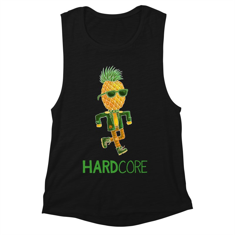 Hardcore Women's Tank by Lupi Art + Illustration