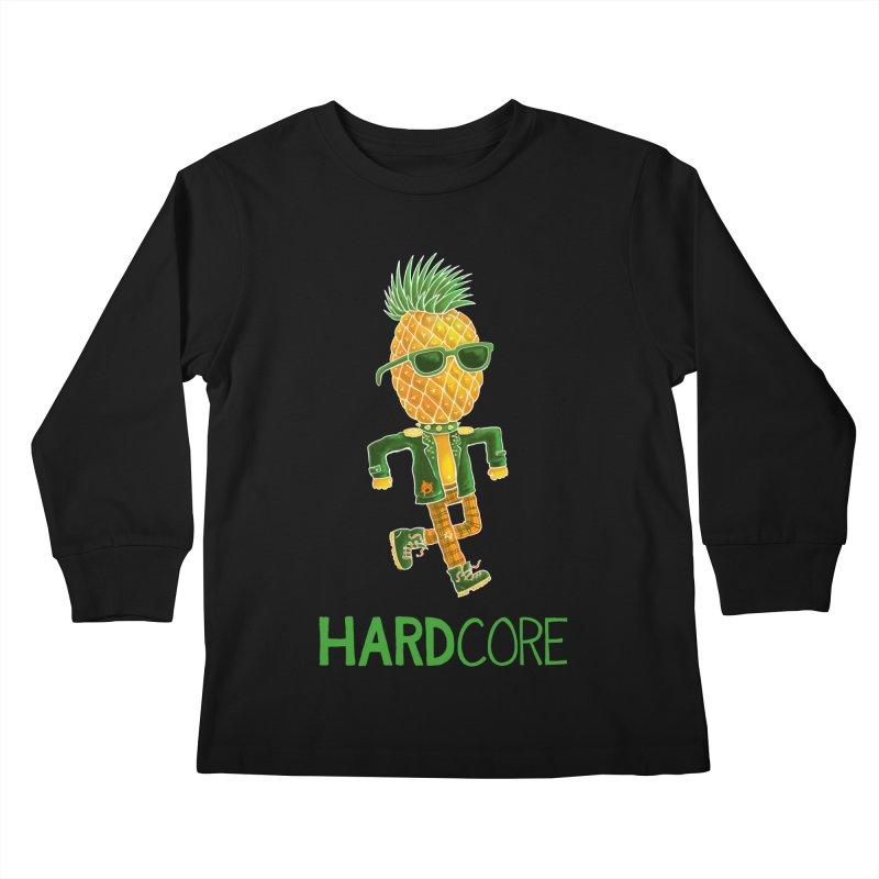 Hardcore Kids Longsleeve T-Shirt by Lupi Art + Illustration