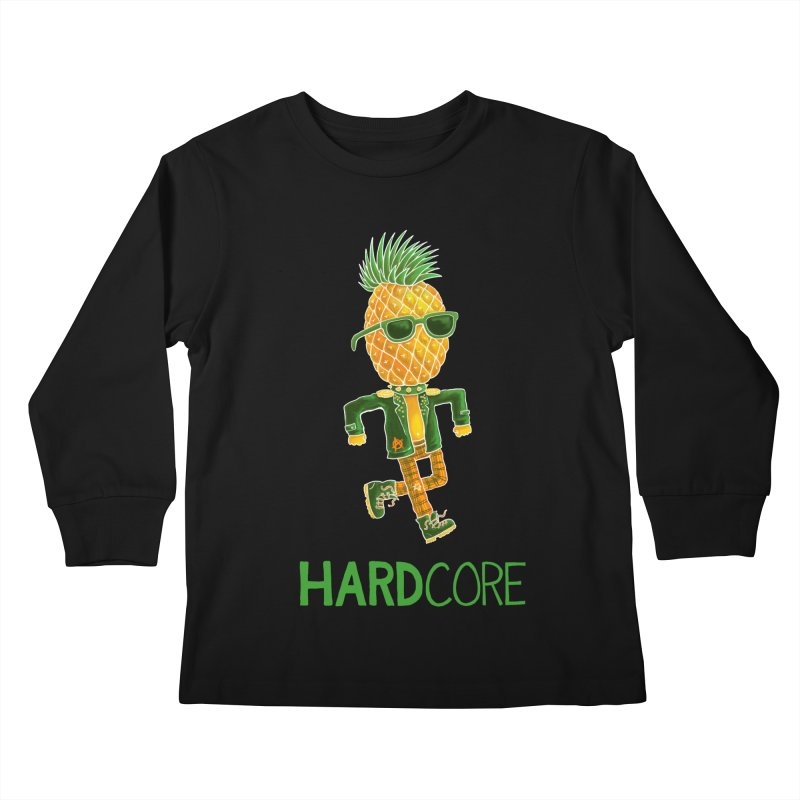 Hardcore Kids Longsleeve T-Shirt by Lupi Art + Illustration