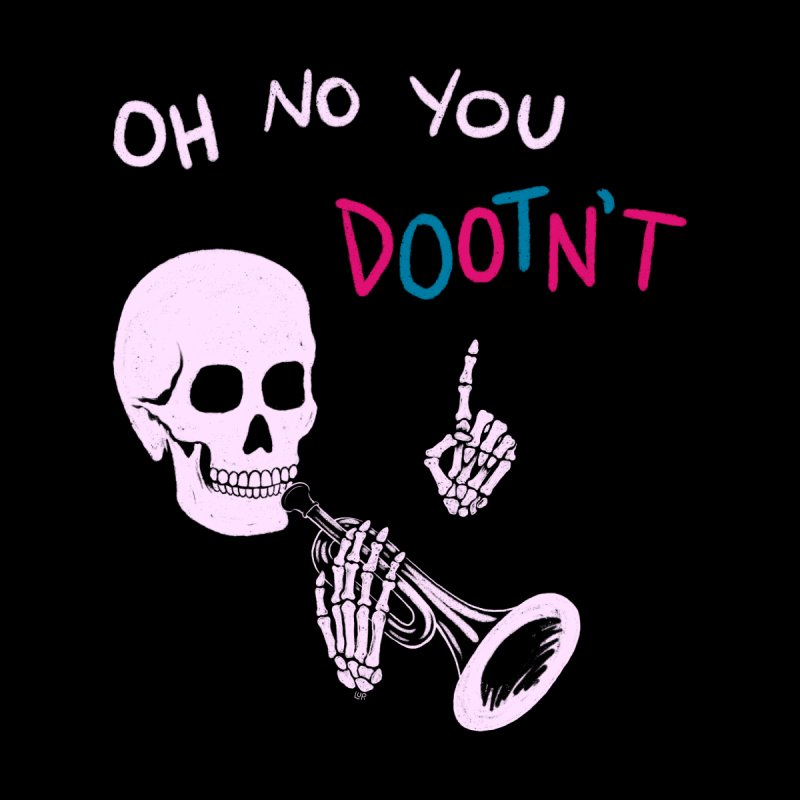 Oh No You Dootn't Accessories Notebook by Lupi Art + Illustration