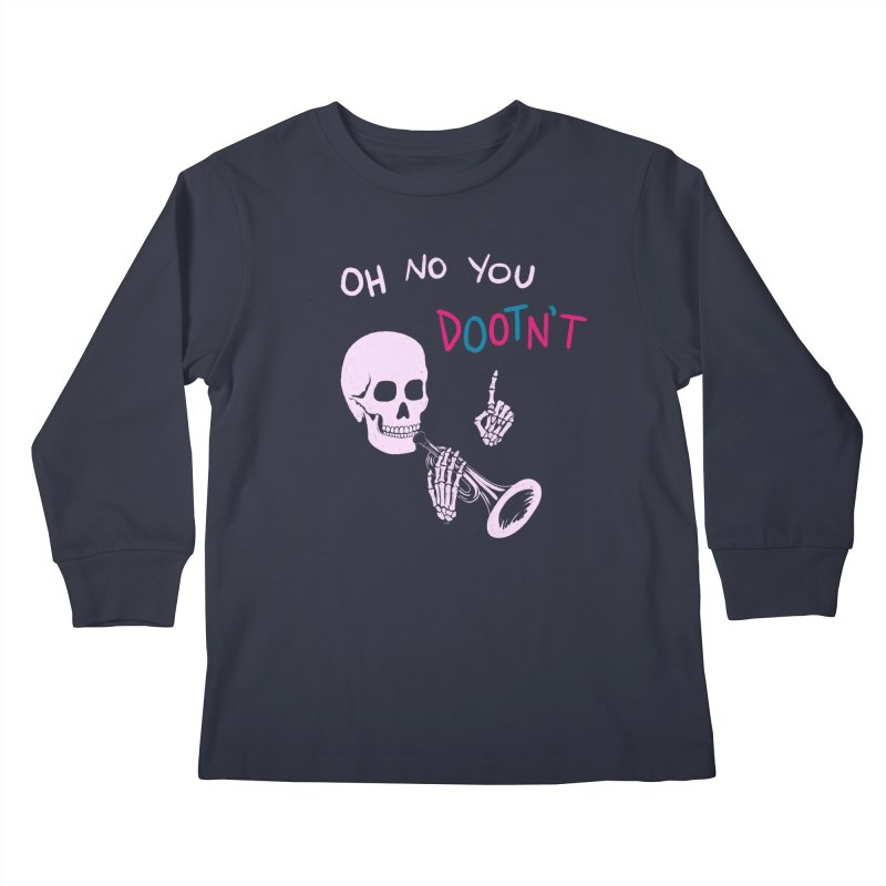 Oh No You Dootn't Smoll Longsleeve T-Shirt by Lupi Art + Illustration