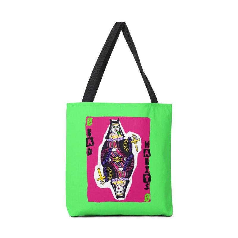 Bad Habits Accessories Bag by Lupi Art + Illustration