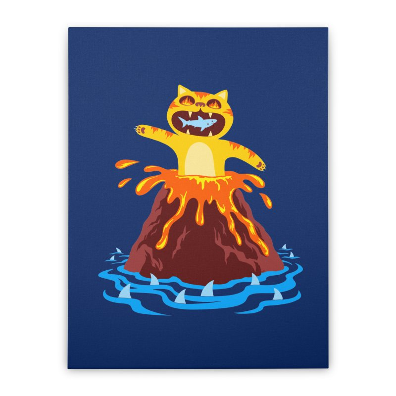 Volcano Cat   by Lupi Art + Illustration