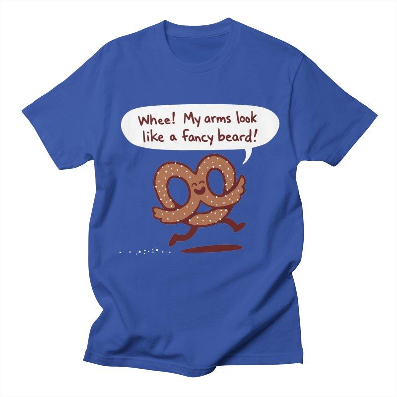Pretzel Pat Men's T-Shirt by Lupi Art + Illustration