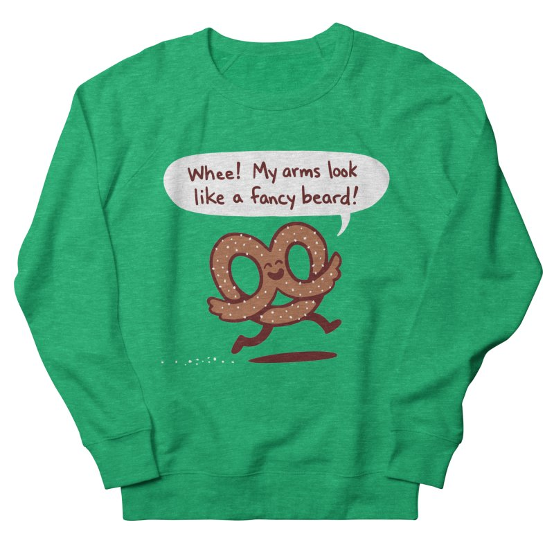 Pretzel Pat Women's Sweatshirt by Lupi Art + Illustration