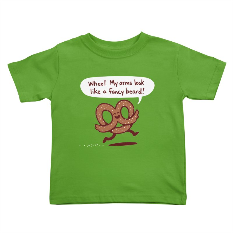 Pretzel Pat Kids Toddler T-Shirt by Lupi Art + Illustration