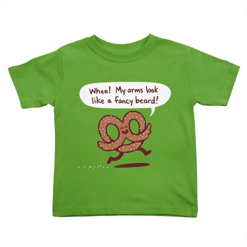 Pretzel Pat Kids Toddler T-Shirt by Lupi Art + Illustration