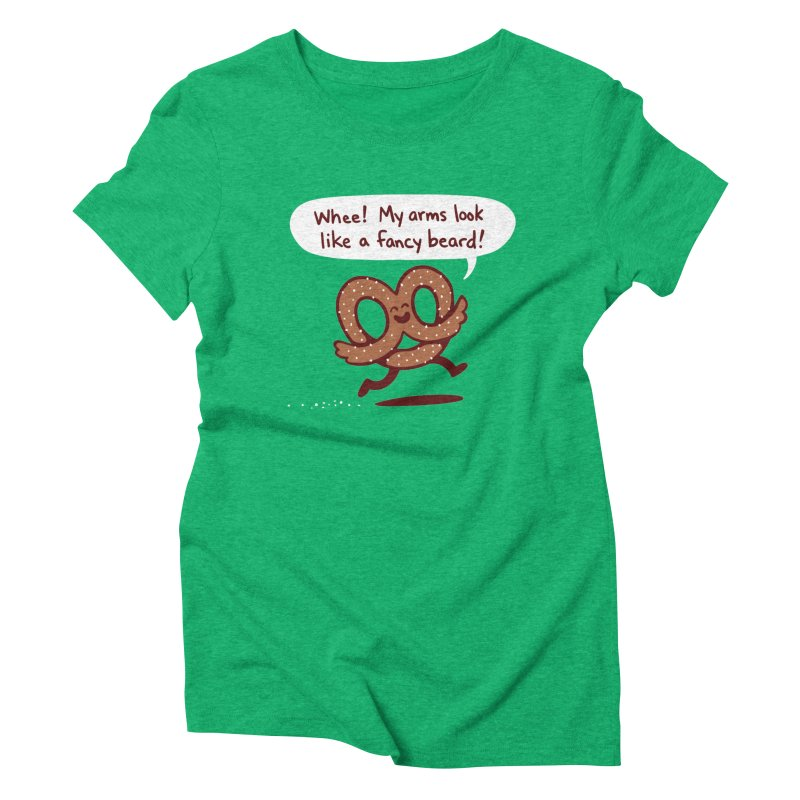 Pretzel Pat Women's T-Shirt by Lupi Art + Illustration