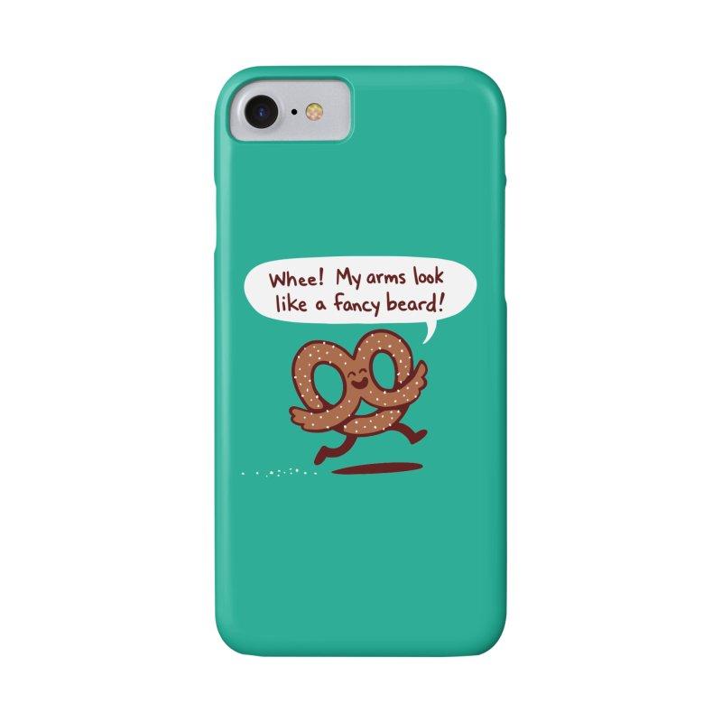 Pretzel Pat Accessories Phone Case by Lupi Art + Illustration